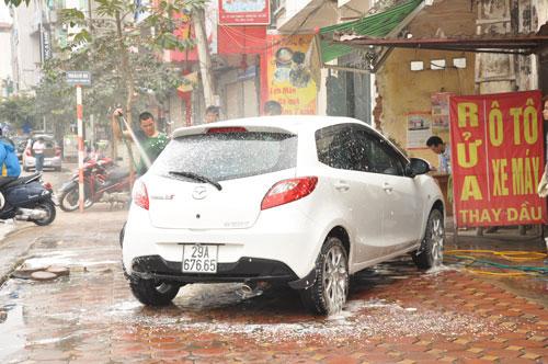 kinh doanh mở tiệm rửa xe ô tô